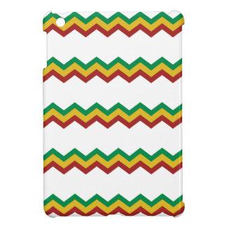 Rasta Zig Zags. iPad Mini Cover