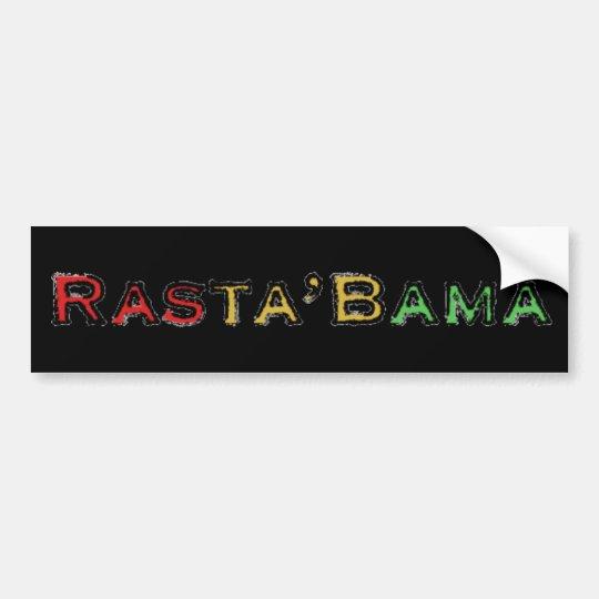 Rasta'Bama Bumper Sticker