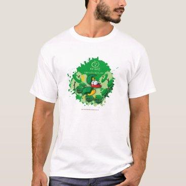 Beach Themed RastaCrab, the drummer T-Shirt