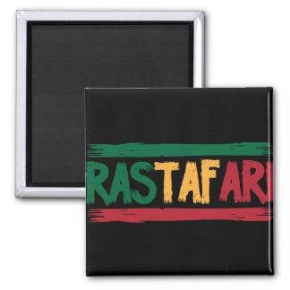 Rastafari 2 Inch Square Magnet