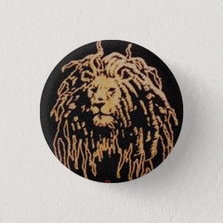 Rastafari Badge Pinback Button