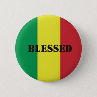 Rastafari benediction button