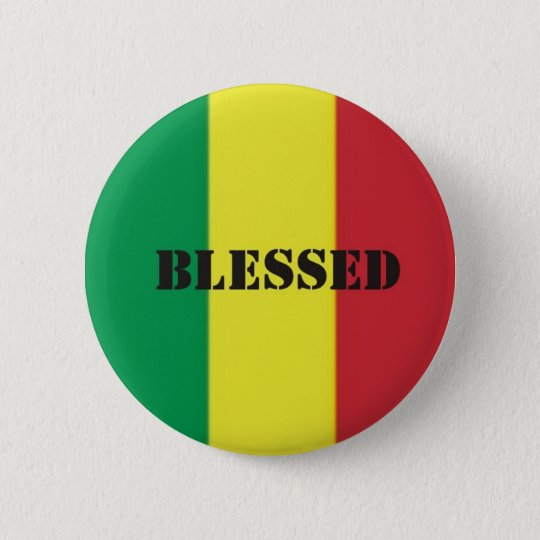 Rastafari benediction button