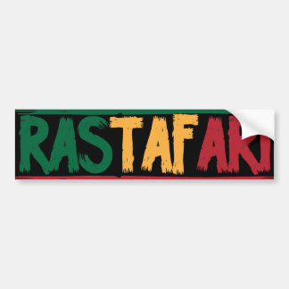 Rastafari Bumper Sticker