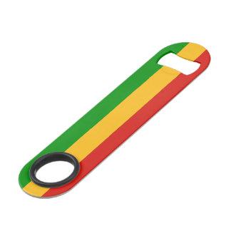 RASTAFARI FLAG COLORS + your ideas Speed Bottle Opener