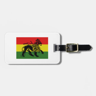 Rastafari Flag Luggage Tag