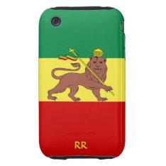 Rastafari Flag Of Ethiopia Reggae Iphone 3 Tough Iphone 3 Tough Cover at Zazzle