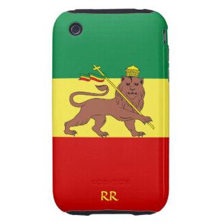 Rastafari Flag of Ethiopia Reggae iPhone 3 Tough iPhone 3 Tough Cover