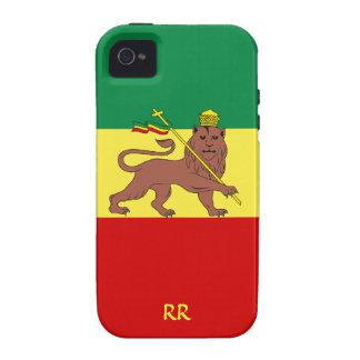 Rastafari Flag of Ethiopia Reggae iPhone 4 Tough iPhone 4/4S Cover