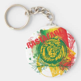Rastafari Keychain