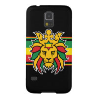 Rastafari Lion of Judah Case For Galaxy S5