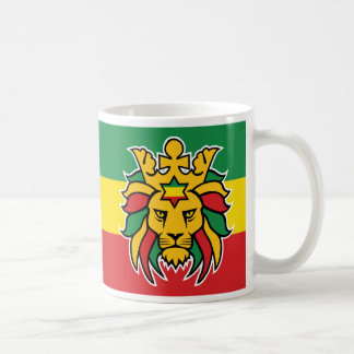 Rastafari Lion of Judah Coffee Mug