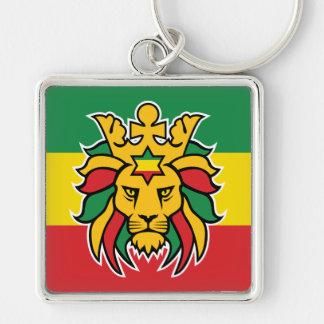 Rastafari Lion of Judah Keychain