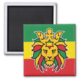 Rastafari Lion of Judah Magnet