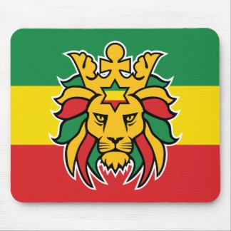 Rastafari Lion of Judah Mouse Pad