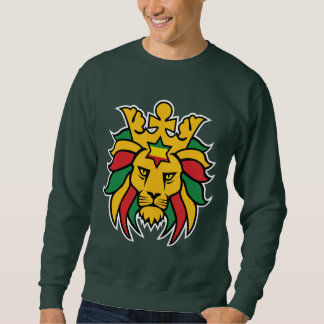 Rastafari Lion of Judah Sweatshirt