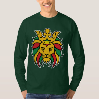 Rastafari Lion of Judah T-Shirt