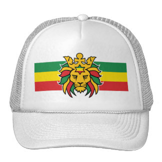Rastafari Lion of Judah Trucker Hat
