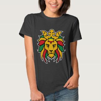 Rastafari Lion of Judah Tshirts