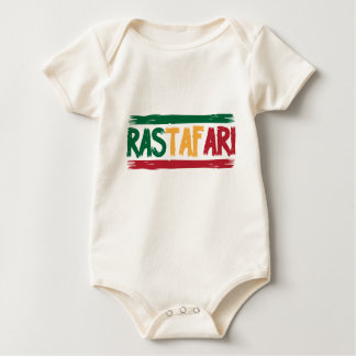 Rastafari Mameluco De Bebé
