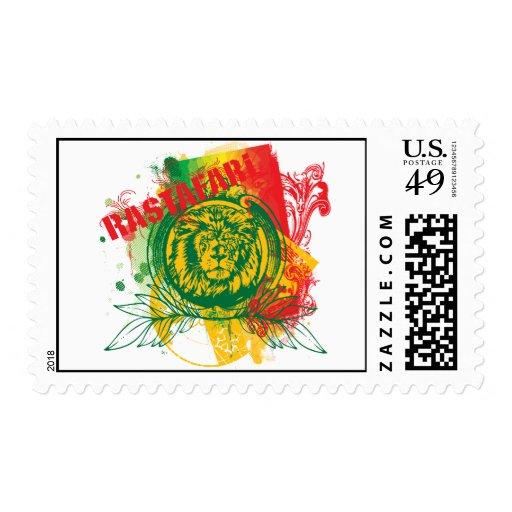 Rastafari Postage Stamp