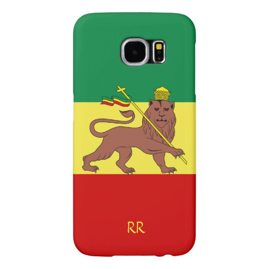 Rastafari Reggae Flag Samsung Galaxy S6 Case