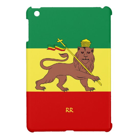 Rastafari Reggae Music Flag iPad Mini Case