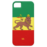 Rastafari Reggae Music Flag iPhone 5 Case at Zazzle