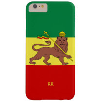Rastafari Reggae Music Flag iPhone 6 case at Zazzle