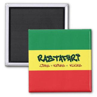 Rastafari vive imán de las reglas de los reinados