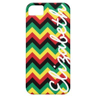Rastafarian Chevron iPhone 5 Case