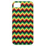 Rastafarian Chevron iPhone 5 Case-Mate Coberturas