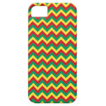 Rastafarian Chevron iPhone 5 Cases