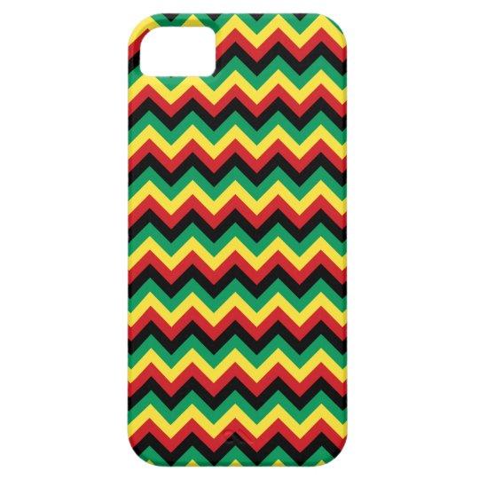 Rastafarian Chevron iPhone SE/5/5s Case
