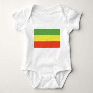 Rastafarian Flag Baby Bodysuit