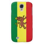 Rastafarian Flag Galaxy S4 Cases
