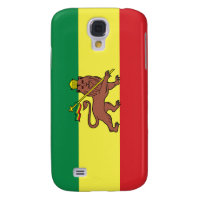 Rastafarian Flag Galaxy S4 Cover