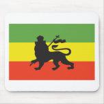 Rastafarian Flag Mouse Pad