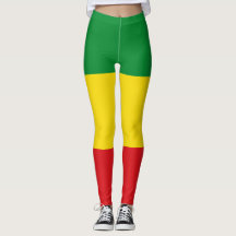 Rasta Leggings Rastafarian Women Leggings