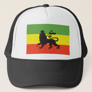 Rastafarian Flag Trucker Hat