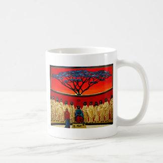 Rastafarian Last Supper Classic White Coffee Mug
