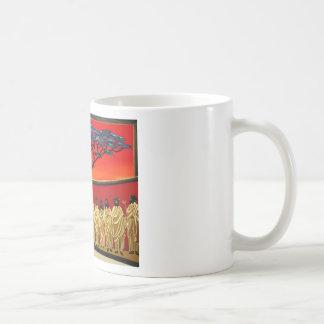 Rastafarian Last Supper Coffee Mugs