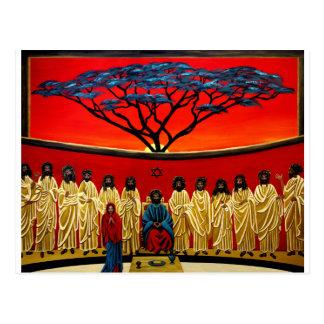 Rastafarian Last Supper Postcard