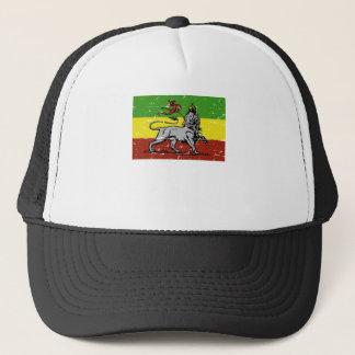 Rastafarian lion Jamaican reggae tshirt Trucker Hat