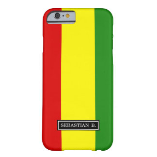 Rastafarian Pride Flag Barely There iPhone 6 Case