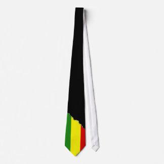 Rastafarian Pride Flag Neck Tie