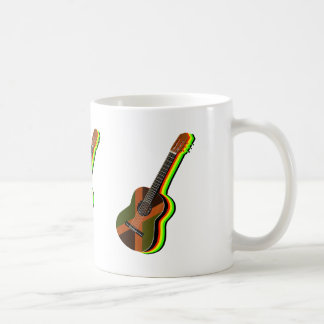 Rastafarian Reggae Guitar Coffee Mug