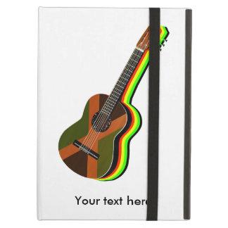 Rastafarian Reggae Guitar Jamaican Flag Cover For iPad Air