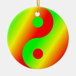 Rastafarian Yin Yang Ornamentos Para Reyes Magos