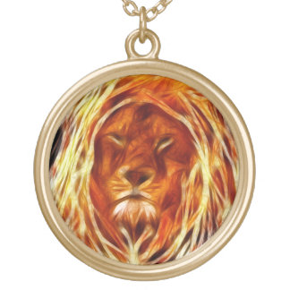 Rastalion Gold Plated Necklace